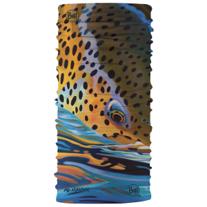 Buff Fly Fishing Multifunctional Headwear - CoolNet UV+ A.D. Maddox Artist Series Buff