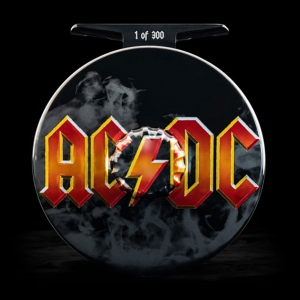 Abel Fly Fishing + AC/DC Limited Edition Super Series Fly Reel
