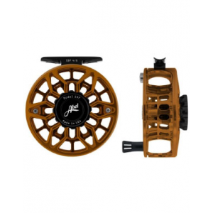 Image of Abel SDF 4/5 Reel - Ported - Black Red Fade - 4/5