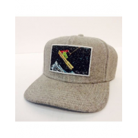 Art 4 All - Flat Bill Trucker Patch Wool Snap Back Hat