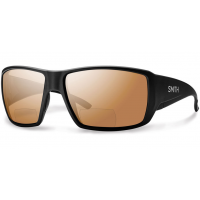 Smith Guide's Choice Sunglasses - Bifocal Polarized - +2.50 - Matte Black with Copper