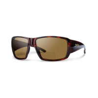 Smith Guide's Choice Sunglasses - Bifocal Polarized - +2.00 - Matte Havana with Brown