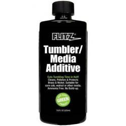 Flitz Tumbler Media Additive 7.6oz Bottle   Brass   LAPoliceGear.com