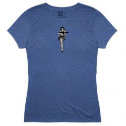 Magpul Industries Women's Hula Girl Tri-Blend T-Shirt | Royal Heather | X-Large | Cotton/Polyester/Rayon | LAPoliceGear.com