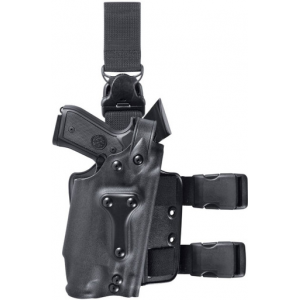 Safariland 6035 SLS Military Drop-Leg Tactical Holster with Quick Release Leg Strap | Brown | LAPoliceGear.com