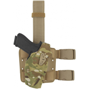 Safariland 6354DO ALS Optic Tactical Drop-Leg Holster   Red   Nylon   LAPoliceGear.com