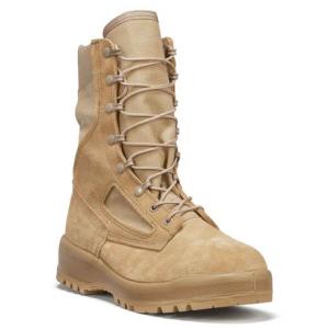 Belleville Women's Hot Weather Combat Boot – Tan   10-Wide   Nylon/Leather/Rubber   LAPoliceGear.com