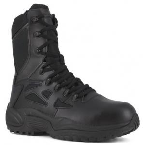 Reebok RB874 Women's 8″ Stealth Swat Boot | Black | 11-Wide | LAPoliceGear.com