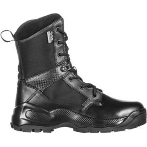 5.11 Tactical Women's A.T.A.C. 2.0 8″ Storm Black Boot 12406 | 9.5-Standard | Nylon | LAPoliceGear.com