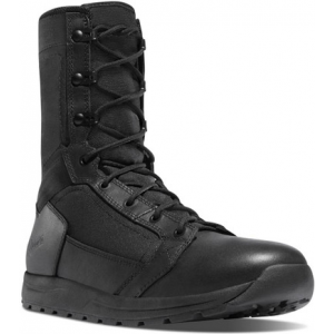 Danner Mens Tachyon 8″ Polishable Black Tactical Boot 50124   11-Standard   Nylon/Leather/Rubber   LAPoliceGear.com
