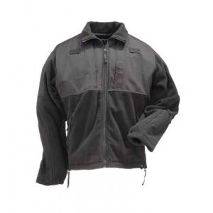 5.11 Tactical Men's Tactical Fleece Jacket 48038 | Dark Navy Blue | 3X-Large | LAPoliceGear.com