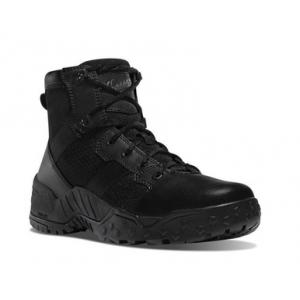 Danner Mens Scorch 6″ Side Zip Black Tactical Boot 25730 | 15-Standard | Nylon | LAPoliceGear.com