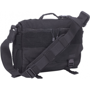 5.11 Tactical Rush Delivery Mike Messenger Bag 56176 | Double Tap | Nylon | LAPoliceGear.com