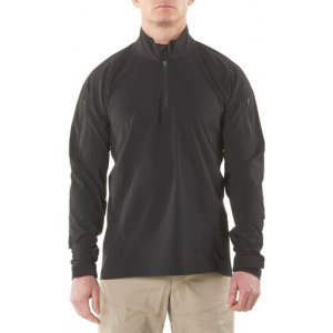 5.11 Tactical Men's Rapid Ops Shirt 72199 | Black | X-Large | Polyester/Spandex | LAPoliceGear.com