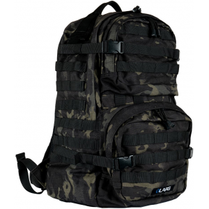 LA Police Gear 3 Day Backpack 2.0 | Grey | Polyester/Nylon