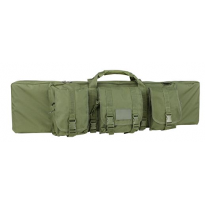 Condor 36″ Rifle Case with Pouches | OD Green | LAPoliceGear.com