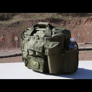 LA Police Gear Jumbo Bail Out Bag | OD Green | Polyester/Plastic