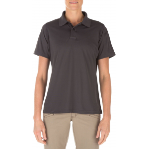 5.11 Tactical Women's Corporate Pinnacle Short Sleeve Polo Shirt 61026 | Red | X-Large | Polyester | LAPoliceGear.com