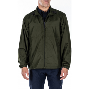 5.11 Tactical Men's Packable Jacket 48035 | Green | 2X-Large | Polyester | LAPoliceGear.com