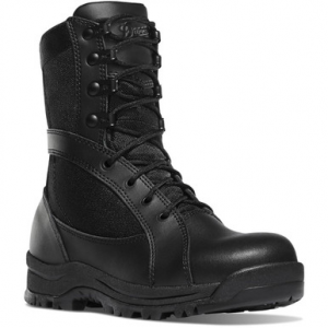 Brite-Strike Danner Women's Prowess 8″ Side-Zip Black Hot Boot | 12-Standard | Nylon/Leather | LAPoliceGear.com