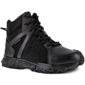 Reebok Men's Trailgrip Tactical 6″ Waterproof Boot RB3450 | Black | 15-Standard | Nylon/Leather/Rubber | LAPoliceGear.com