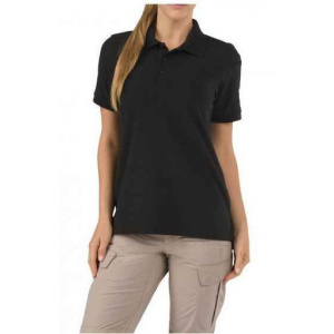 5.11 Tactical Women's Utility Short Sleeve Polo Shirt 61173 | Silver Tan | X-Large | Cotton/Polyester | LAPoliceGear.com