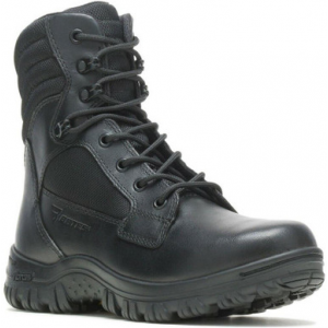 Bates Women's Cyren Tall Side-Zip Black Boot E05701 | 10-Standard | Nylon/Leather/Rubber | LAPoliceGear.com