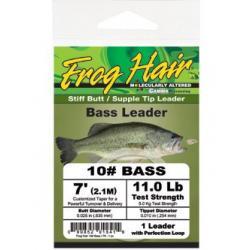 Frog Hair Bass Leader - 10LB