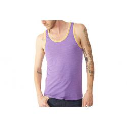 Alternative Apparel Double Ringer Tank - Men's