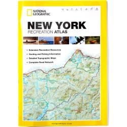 Nat Geo New York State Recreation Atlas