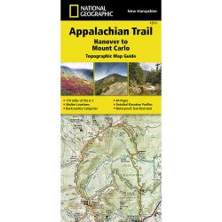 National Geographic Appalachian Trail, Hanover To Mount Carlo Topographic Map Guide