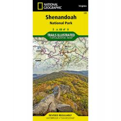 National Geographic Trails Illustrated Shenandoah National Park Map