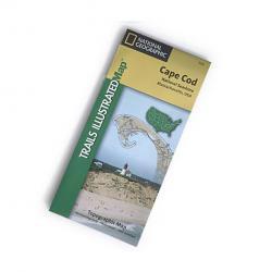 Nat Geo Cape Cod Nat'l Seashore Map