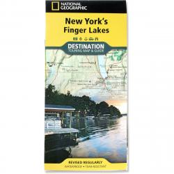 Nat Geo Finger Lakes, New York Map