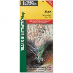 National Geographic Trails Illustrated Zion National Park