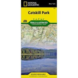 Nat Geo Catskills Park Trail Map