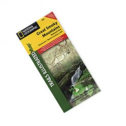 Nat Geo Great Smoky Mountains Nat'l Park Map, '07