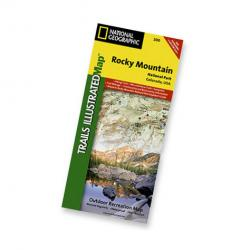 Nat Geo Rocky Mountain Nat'l Park Map
