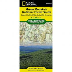 Nat Geo Green Mountains South Map
