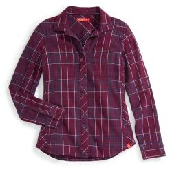 EMS Women's Cabin Flannel Long-Sleeve Shirt - Size M