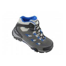 Hi Tec Kid's Logan Wp Hiking Shoe, Grey