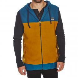 Free Nature Guys' Hooded Polar Fleece Zip-Up Vest