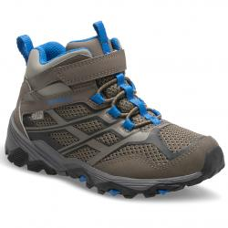 Merrell Big Kids' Moab Mid Waterproof Hiking Boots