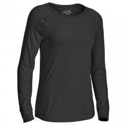 EMS Women's Solid Organic Slub Long-Sleeve Tee - Size XS