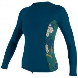 O'neill Women's Rashguard Long-Sleeve Shirt - Size XS