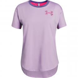 Under Armour Girls' Heatgear Armour Short-Sleeve Shirt