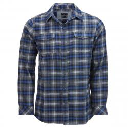 Burnside Men's Button-Down Flannel Shirt
