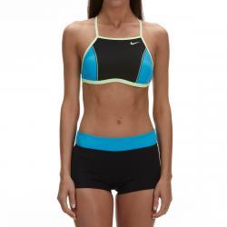 Nike Women's Color Surge High-Neck Bikini Top Set