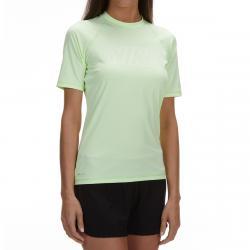Nike Women's Solid Short-Sleeve Hydroguard