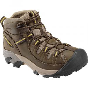 Keen Men's Targhee Ii Wp Hiking Boots, Black Olive/yellow, Wide - Size 14